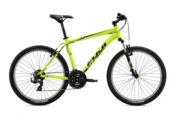 Fuji Nevada 26 1.9 V  2016  350x233 - Велосипед Fuji 2016 MTB мод. Nevada 26 1.9 V USA A2-SL р. 17  цвет жёлтый