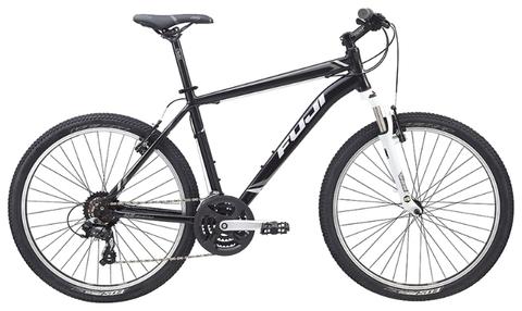 large Velosiped Fuji Nevada 1.9 D  2015  - Велосипед Fuji 2015 MTB мод. Nevada 1.9 D USA A2-SL р. 15  цвет чёрно серый