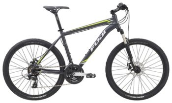 large Velosiped Fuji Nevada 1.9 D  2015  1 350x211 - Велосипед Fuji 2015 MTB мод. Nevada 1.9 D USA A2-SL р. 15  цвет серо зелёный