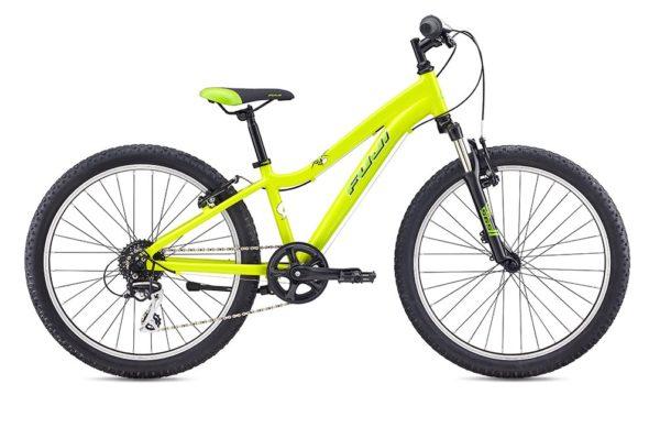 Fuji KIDS Dynamite 24 COMP limon 1 600x399 - Велосипед Fuji 2020 MTB KIDS мод. Dynamite 24 COMP  A1-SL р. 12 цвет лимонный