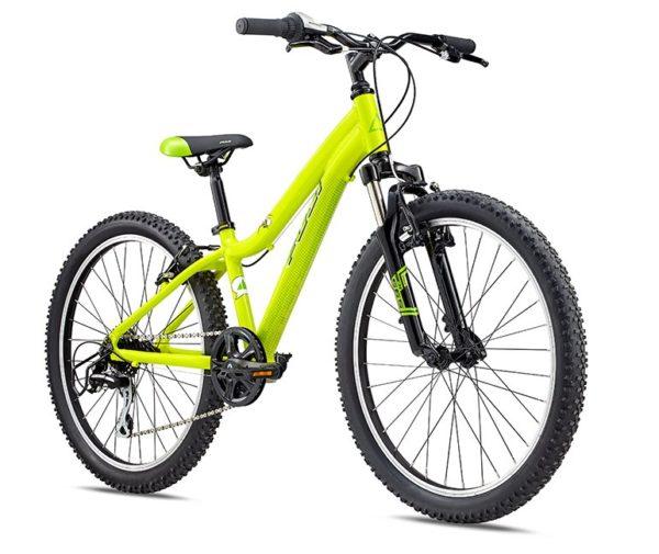 Fuji KIDS Dynamite 24 COMP limon 2 600x505 - Велосипед Fuji 2020 MTB KIDS мод. Dynamite 24 COMP  A1-SL р. 12 цвет лимонный