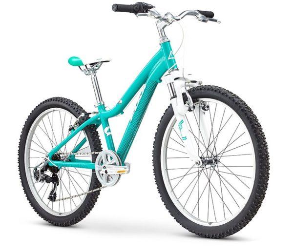Fuji KIDS Dynamite 24 SPORT 12 izumrud 2 600x517 - Велосипед Fuji 2020 MTB KIDS мод. Dynamite 24 SPORT  A1-SL р. 12 цвет изумрудный