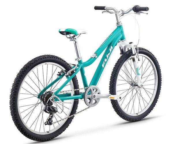 Fuji KIDS Dynamite 24 SPORT 12 izumrud 3 600x497 - Велосипед Fuji 2020 MTB KIDS мод. Dynamite 24 SPORT  A1-SL р. 12 цвет изумрудный