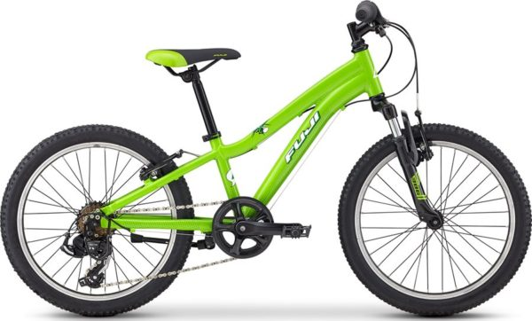 Fuji KIDS Dynamite 24 green1 600x362 - Велосипед Fuji 2020 MTB KIDS мод. Dynamite 20  A1-SL р. 10 цвет зелёный