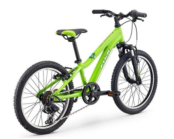 Fuji KIDS Dynamite 24 green3 600x481 - Велосипед Fuji 2020 MTB KIDS мод. Dynamite 20  A1-SL р. 10 цвет зелёный