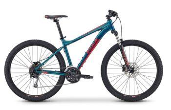 Fuji LADY Addy 27.5 1.5 D green 1 350x225 - Велосипед Fuji 2020 MTB LADY мод. Addy 27.5 1.5 D  A2-SL р. 15 цвет зелёный металлик