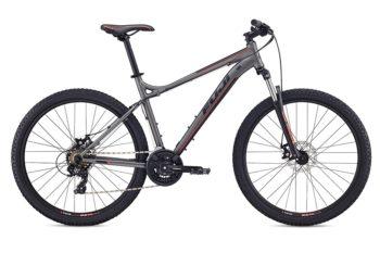 Fuji Nevada 27.5 1.9 D grey 1 350x233 - Велосипед Fuji 2020 MTB мод. Nevada 27.5 1.9 D  A2-SL р. 15 цвет серый металлик