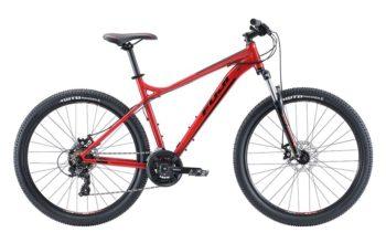 Fuji Nevada 27.5 1.9 D red 1 350x220 - Велосипед Fuji 2020 MTB мод. Nevada 27.5 1.9 D  A2-SL р. 15 цвет красный металлик