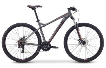 Fuji nevada 29 1.9 D seryi1 350x227 - Велосипед Fuji 2020 MTB мод. Nevada 29 1.9 D  A2-SL р. 17 цвет серый металлик