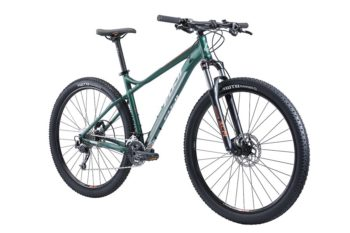 Velo nevada 29 1 3 green2 350x233 - Велосипед Fuji 2019 MTB мод. Nevada 29 1.3 D USA A2-SL р. 19 цвет зелёный металлик