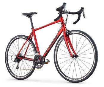 fuji sportif 2 3 krasniy 2 350x295 - Велосипед Fuji 2020 ROAD  мод. SPORTIF 2.3  A2-SL р. 49 цвет красный металлик
