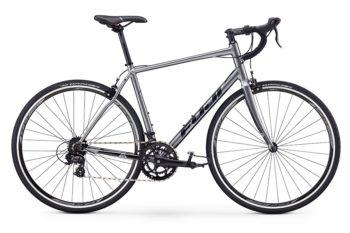 fuji sportif 2 5 seriy 1 350x233 - Велосипед Fuji 2020 ROAD  мод. SPORTIF 2.5  A2-SL р. 49 цвет серебряный металлик