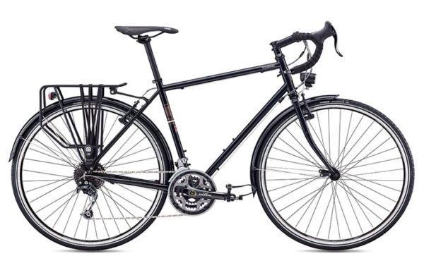 velosiped fuji touring 600x397 - Велосипед Fuji 2020 TOURING  мод. TOURING  Cr-Mo р. 56 цвет чёрный металлик