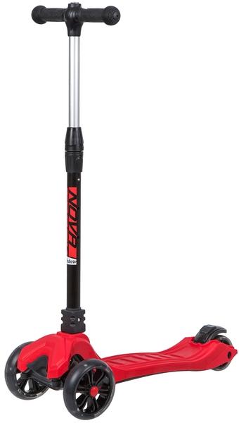 141030 2 - Самокат Novatrack RAINBOW PRO, Кикборд, цвет: красный, год 2020, артикул: 135PRO.RAINBOW.RD20