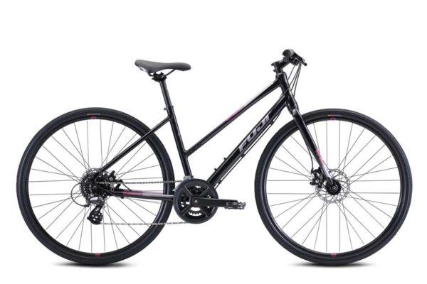 ABSOLUTE 1.9 ST BLACK 1 600x400 - Велосипед Fuji 2021  FITNESS LADY мод. ABSOLUTE 1.9 ST USA A2-SL р. 17 цвет чёрный металлик