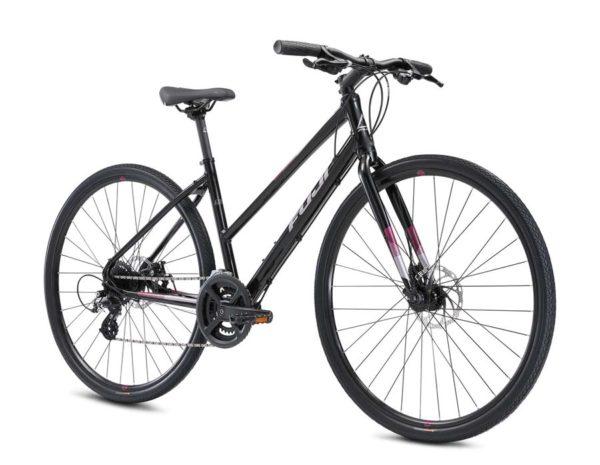 ABSOLUTE 1.9 ST BLACK 2 600x465 - Велосипед Fuji 2021  FITNESS LADY мод. ABSOLUTE 1.9 ST USA A2-SL р. 17 цвет чёрный металлик