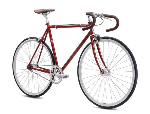 feather red 2 600x457 - Велосипед Fuji 2021 LIFESTYLE мод. Feather USA Cr-Mo Reynolds 520 р. 56 цвет красный