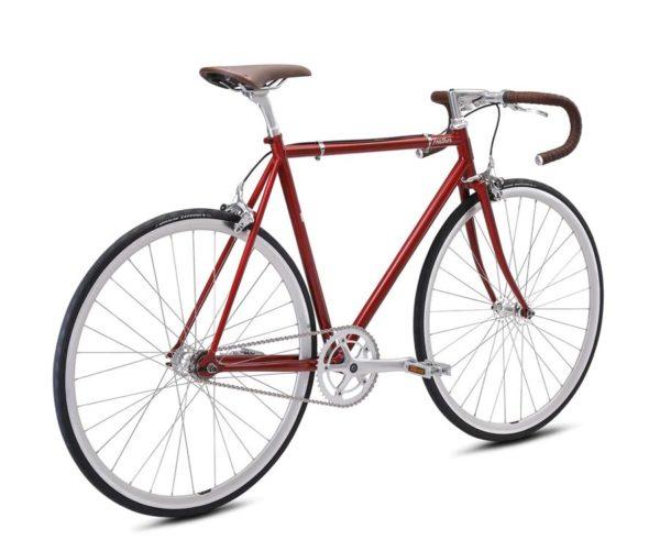 feather red 3 600x491 - Велосипед Fuji 2021 LIFESTYLE мод. Feather USA Cr-Mo Reynolds 520 р. 56 цвет красный