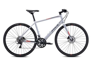 fuji absolut 1.3 350x229 - Велосипед Fuji 2021  FITNESS мод. ABSOLUTE 1.3 USA A2-SL р. 17 цвет серебряный металлик