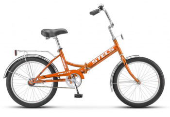 "410 oranzhevyy 350x241 - Велосипед Стелс (Stels) Pilot-410 20"" Z011, Сталь  , р. 13,5"", цвет Оранжевый"