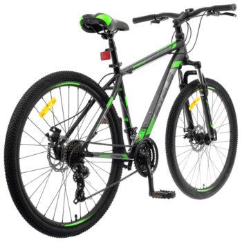 "700 md chernyy zelenyy 2 350x350 - Велосипед Стелс (Stels) Navigator-700 MD 27.5"" F010, Сталь, р 17,5, цвет Чёрный/зелёный"