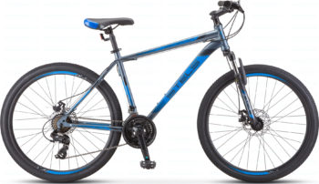 "700 md seryy siniy 1 1 350x202 - Велосипед Стелс (Stels) Navigator-700 MD 27.5"" F010, Сталь, р 21, цвет Серый/синий"