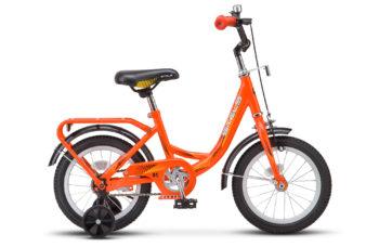"Flyte 14 Z010 orange 350x228 - Велосипед Стелс (Stels) Flyte Lady 14"" Z011, Сталь , р 9,5"", цвет   Оранжевый"