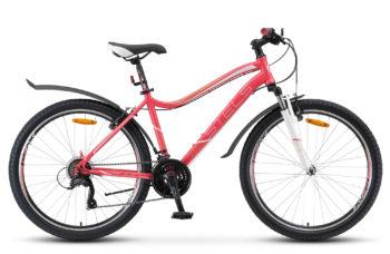 """Miss 5000 V 26 V040 pink 350x228 - Велосипед Стелс (Stels) Miss-5000 V 26"""" V040, Сталь , р 15"""", цвет Розовый"""