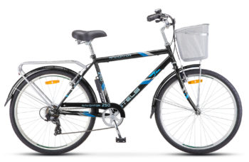 "Navigator 250 Gent 26 Z010 black 350x228 - Велосипед Стелс (Stels) Navigator-250 Gent 26"" Z010 , Сталь , р. 19"", цвет  Чёрный"