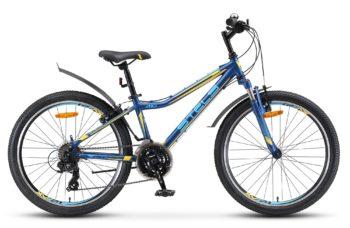 Navigator 410 V 24 21 sp V010 matt dark blue yellow 350x228 - Велосипеды в Павловском Посаде Fuji (Фуджи), STINGER, NOVATRACK, STELS, FORWARD и др...