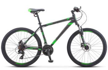 """Navigator 500 D 26 F010 black green 350x228 - Велосипед Стелс (Stels) Navigator-500 D 26"""" F010 , Сталь, р 20"""", цвет  Чёрный/зелёный"""