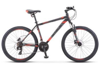 "Navigator 500 D 26 F010 black red 350x228 - Велосипед Стелс (Stels) Navigator-500 D 26"" F010 , Сталь, р 20"", цвет  Чёрный/красный"