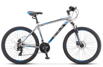 """Navigator 500 D 26 F010 silver blue 350x228 - Велосипед Стелс (Stels) Navigator-500 D 26"""" F010 , Сталь, р 20"""", цвет  Серый/синий"""