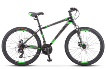 "Navigator 500 MD 26 F010 black green 350x228 - Велосипед Стелс (Stels) Navigator-500 MD 26"" F010 , Сталь, р 20"", цвет Чёрный/зелёный"