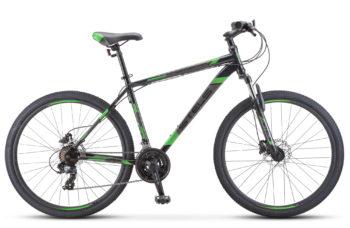 """Navigator 700 D 27.5 F010 black green 350x228 - Велосипед Стелс (Stels) Navigator-700 D 27.5"""" F010, Сталь, р 21, цвет Чёрный/зелёный"""