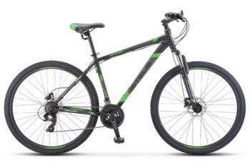"""Navigator 900 D 29 F010 black green 350x228 - Велосипед Стелс (Stels) Navigator-900 D 29"""" F010, Сталь, р.21, цвет: Чёрный/зелёный"""