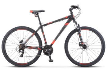 "Navigator 900 D 29 F010 black red 2 350x228 - Велосипед Стелс (Stels) Navigator-900 D 29"" F010, Сталь, р.21, цвет: Чёрный/красный"
