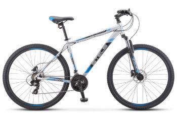 "Navigator 900 D 29 F010 silver blue 350x228 - Велосипед Стелс (Stels) Navigator-900 D 29"" F010, Сталь, р.21, цвет: Серебристый/синий"