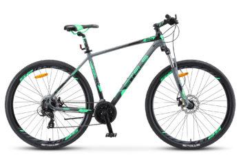 """Navigator 930 MD 29 V010 gray black matt 350x228 - Велосипед Стелс (Stels) Navigator-930 MD 29"""" V010, Алюминий, р.18,5, цвет: Серый/чёрный"""