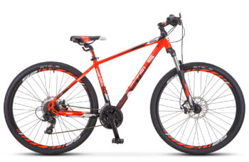 "Navigator 930 MD 29 V010 neon red black matt 350x228 - Велосипед Стелс (Stels) Navigator-930 MD 29"" V010, Алюминий, р.20, цвет: Неоновый-красный/чёрный"