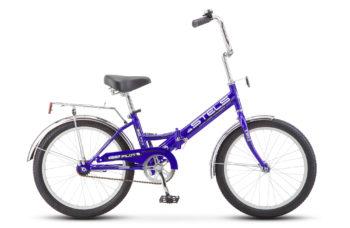 """Pilot 310 20 Z011 blue black2018E 350x228 - Велосипед Стелс (Stels) Pilot-310 20"""" Z011, Сталь , р13"""", цвет   Баклажановый"""