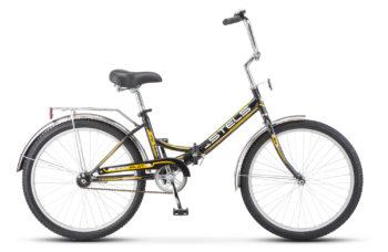 """Pilot 710 24 Z010 black yellow2018 350x228 - Велосипед Стелс (Stels) Pilot-710 24"""" Z010, Сталь , р. 16"""", цвет Чёрный/желтый"""