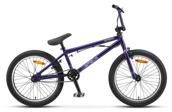 """Saber 20 V010 violet matt 600x390 - Велосипед Стелс (Stels) Saber 20"""" V010 , р 20.5"""", цвет  Фиолетовый"""