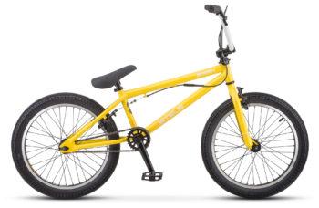 """Saber 20 V010 yellow matt 350x228 - Велосипед Стелс (Stels) Saber 20"""" V010 , р 20.5"""", цвет  Жёлтый"""