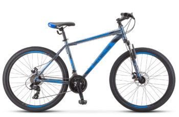 "Seryy siniy 350x228 - Велосипед Стелс (Stels) Navigator-900 MD 29"" F010"" F010, Сталь, р.21, цвет: Серый/синий"