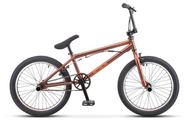 "Tyrant 20 V010 brown matt 600x390 - Велосипед Стелс (Stels) Tyrant 20"" V030 , р 20.5"", цвет  Коричневый"
