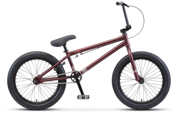 "Viper 20 V010 dark red brown matt 600x390 - Велосипед Стелс (Stels) Viper 20"" V010, р 20.5"", цвет  Тёмно-коричневый"