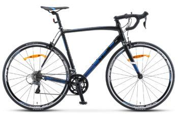 "XT300 28 V010 black blue 1 350x228 - Велосипед Стелс (Stels) XT300 28""  V010  700С , Алюминий X6, р. 23"", цвет   Чёрный/синий"