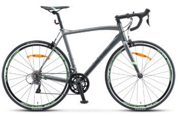 "XT300 28 V010 gray green 350x228 - Велосипед Стелс (Stels) XT300 28""  V010  700С , Алюминий X6, р. 21,5"", цвет  Серый/зелёный"