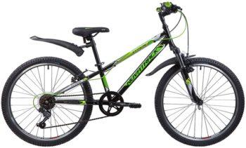 "134055 2 350x211 - Велосипед NOVATRACK 24"" EXTREME 6,V, сталь,рама 10"", чёрный, 6-скор, TY21/TS38/SG-6SI, V-brake, рама - 10"""